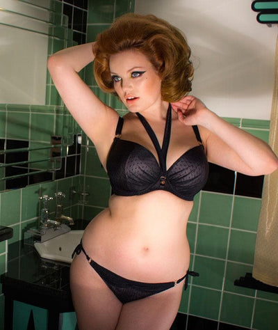 Scantilly All Wrapped Up Bra- Black Bras 12F