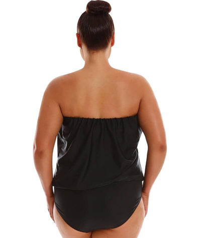 Capriosca Flouncy One Piece	- Iris Placement