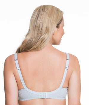 Cake Maternity Frosted Parfait Flexi Wire Balconette Lace Nursing Bra -  Ice Grey