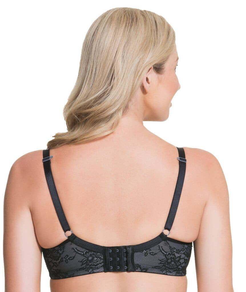 8f171540e Cake Maternity Waffles 3D Spacer Contour Flexi Wire Nursing Bra - Black
