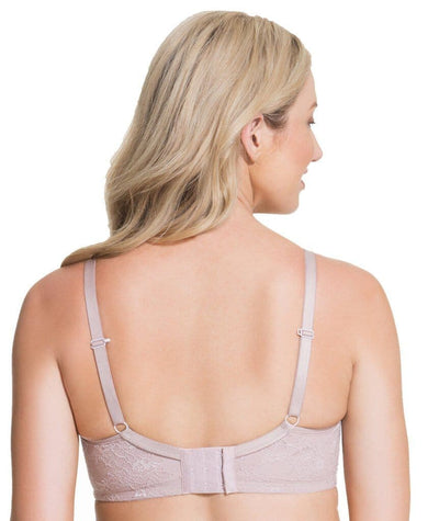 8ee99829a4b60 Cake Maternity Waffles 3D Spacer Contour Flexi Wire Nursing Bra - Oyster  Pink