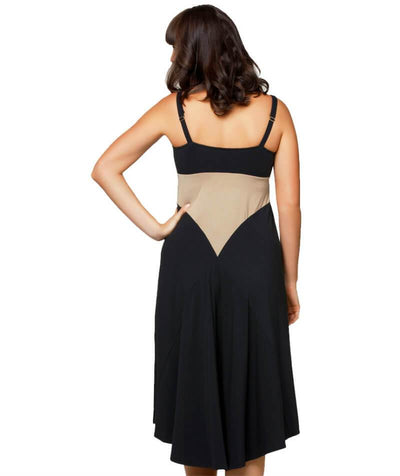 Cake Maternity Honey Macaroon Nursing Chemise - Black Maternity