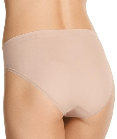 "Jockey Everyday Seamfree Hi Cut Brief - Dusk  ""Back"""