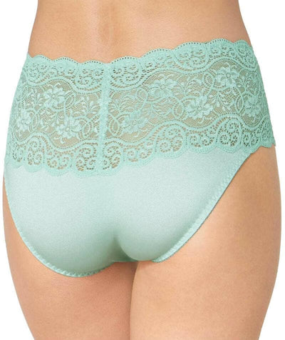 Triumph Amourette Maxi Brief - Fondant Green - Back
