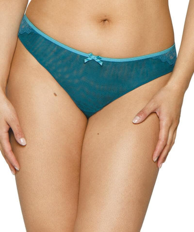 Curvy Kate Ellace Brazilian - Teal Knickers