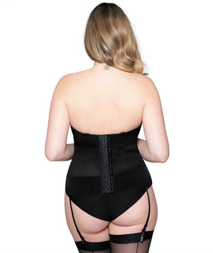 Curvy Kate Luxe Strapless Basque - Black Bodysuits & Basques