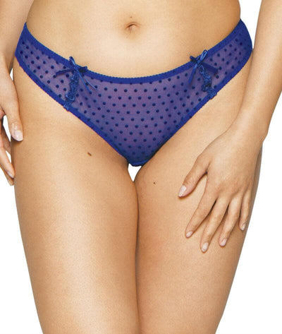 Curvy Kate Princess Brazilian Brief - Blue Knickers