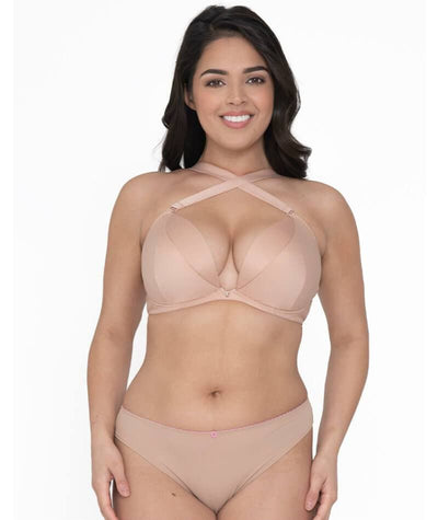 Curvy Kate SuperPlunge Multiway Plunge Bra - Latte Bras