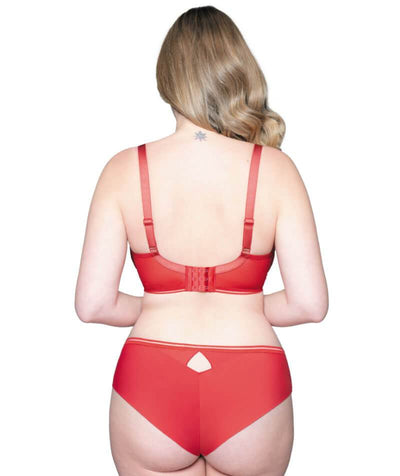 Curvy Kate Top Spot Short - Red