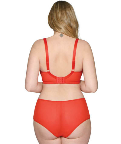 Curvy Kate Victory Balcony Bra - Flame Red