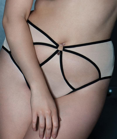Scantilly Knock Out Brief - Latte - Model - 3