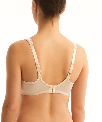 Triumph Everyday Minimizer Cotton-Rich Bra - Fawn Bras