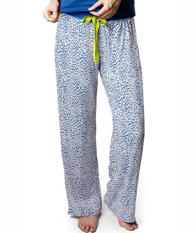 Hotmilk Untamed Pants - Blue Maternity L