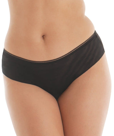 "Curvy Kate Lifestyle Short - Black ""Front"""
