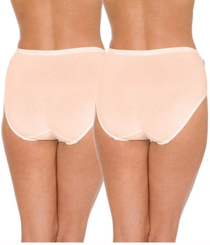 Triumph Sloggi Hikini 2 Pack Midi Brief - Fresh Powder Knickers 12