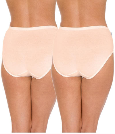Triumph Sloggi Hikini 2 Pack Midi Brief - Fresh Powder - Back View