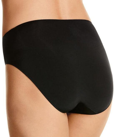Jockey No Panty Line Promise Tactel Hi Cut Brief - Black Knickers