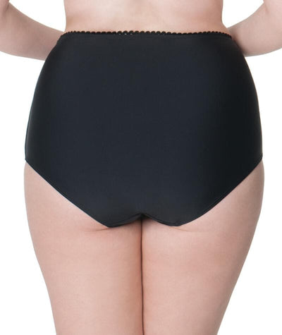 Curvy Kate Jetty High Waist Bikini Brief - Black Swim