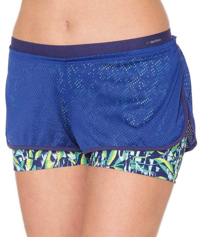 Triumph Triaction The Fit-ster Short - Blue - Dark Combination - Front