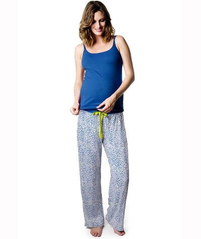 Hotmilk Untamed Pants - Blue Maternity