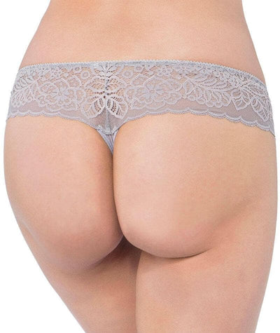 Triumph Amourette Spotlight Hipster-String - Grey Combination - Back