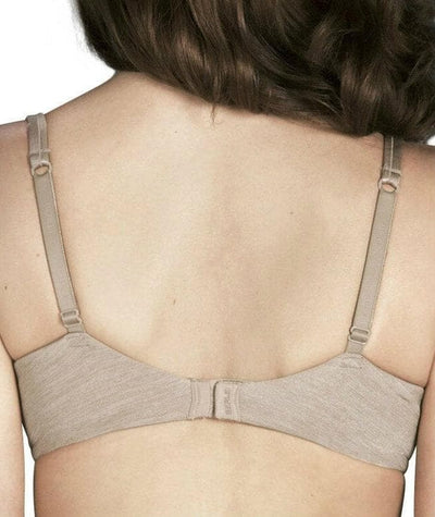 Berlei Barely There Contour Bra - Cafe Mocha - Back
