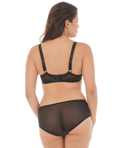 Curvy Kate Charm Balcony Bra - Black/Rose Bras