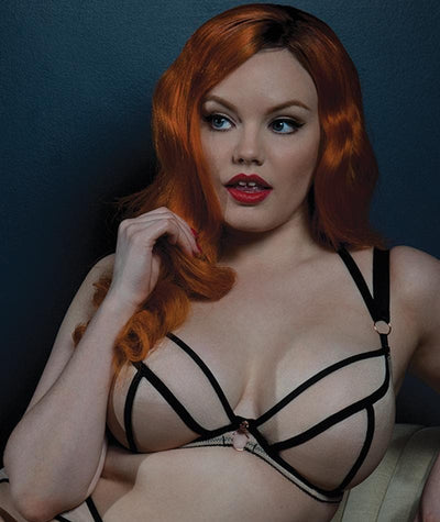 Scantilly Knock Out Bra - Latte - Model - 9