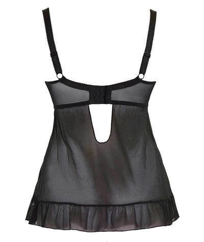 Curvy Kate Tease Camisole - Black/Berry Brands