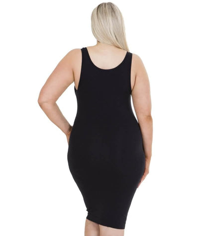 Sonsee Sleeveless Singlet Slip - Black Lounge