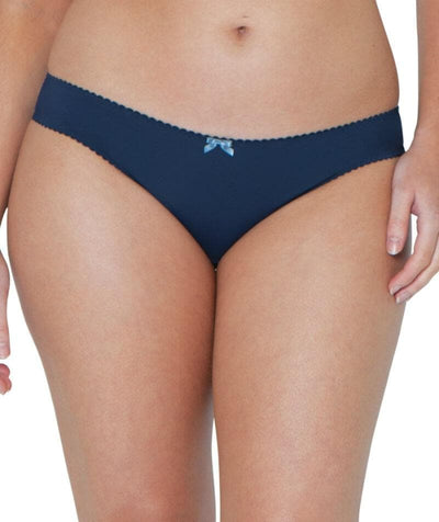 Curvy Kate High Hopes Brazillian Brief - Navy Knickers 10