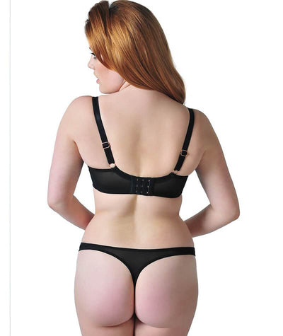 Scantilly Peek A Boo Thong - Black - Model - Back