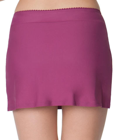 Curvy Kate Jetty Swim Skirt - Berry