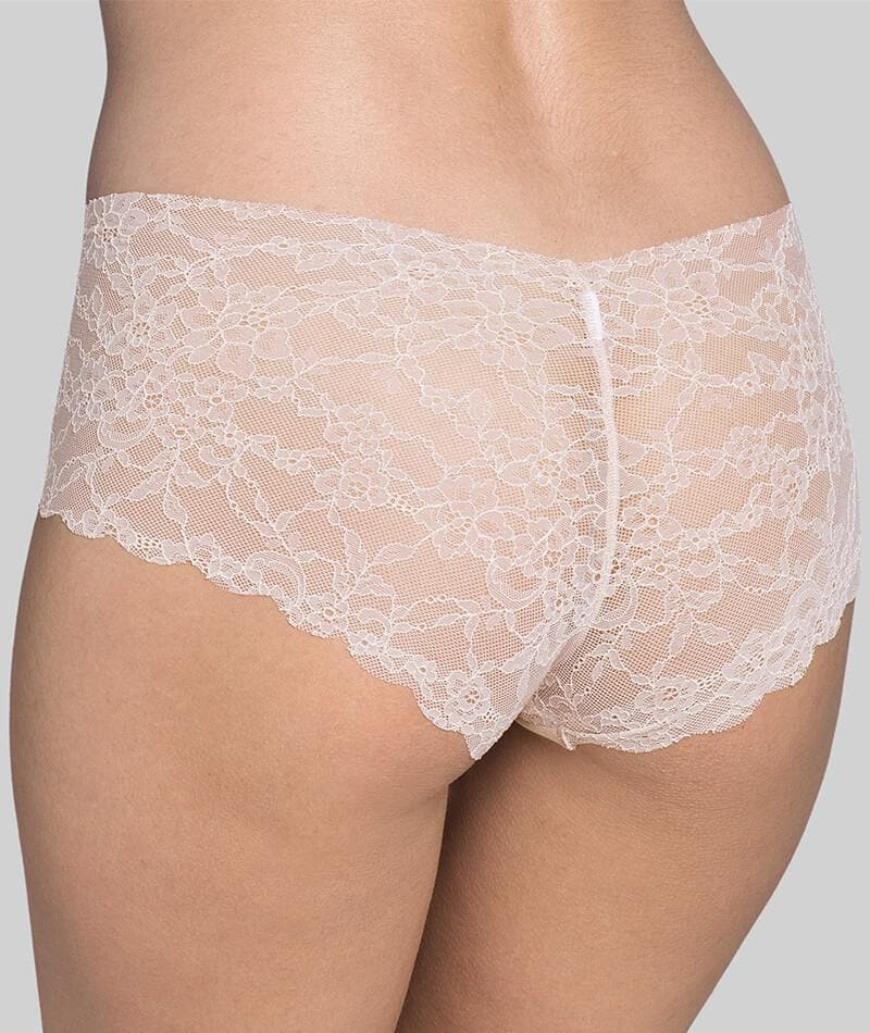 "Triumph Sloggi Light Lace 2.0 Short -New Beige ""Front"""