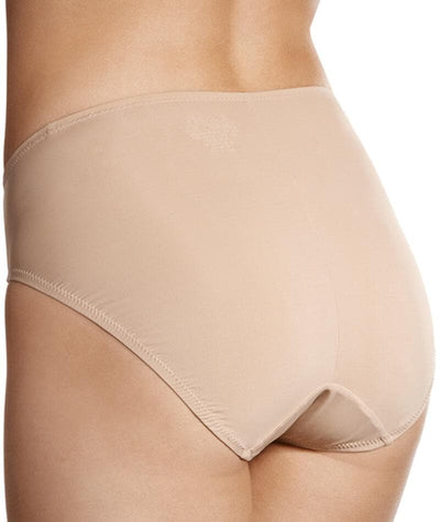 Jockey No Ride Up Microfibre Hi Cut Brief - Dusk Knickers