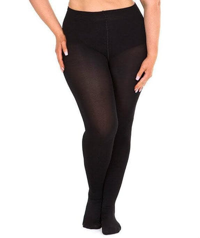 Sonsee Opaque 100 Denier Full Tights - Black Hosiery Gorgeous 14-16