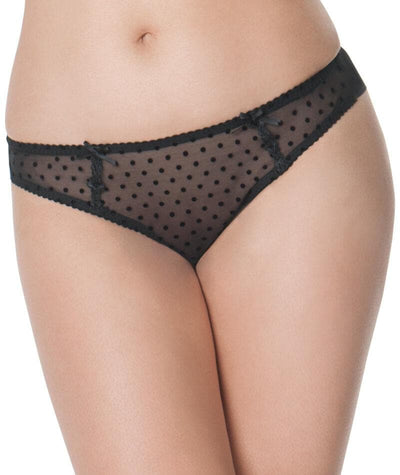 Curvy Kate Princess Brazilian Brief - Black Knickers 10