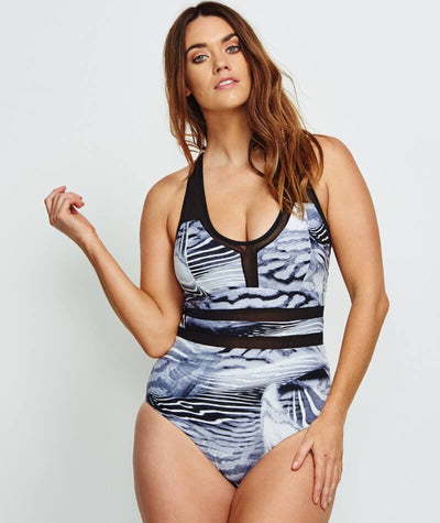 8a7d4170d5 Robyn Lawley Midnight Walker Multifit One Piece - Black - Curvy