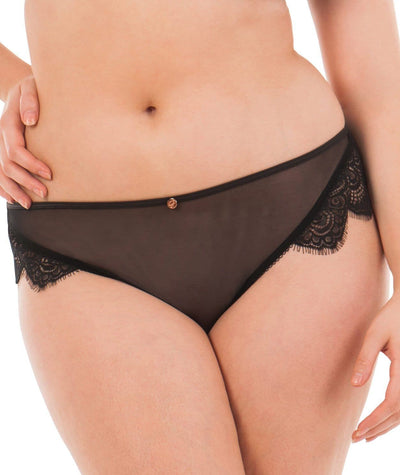 Scantilly Intoxicate Thong - Black Knickers L