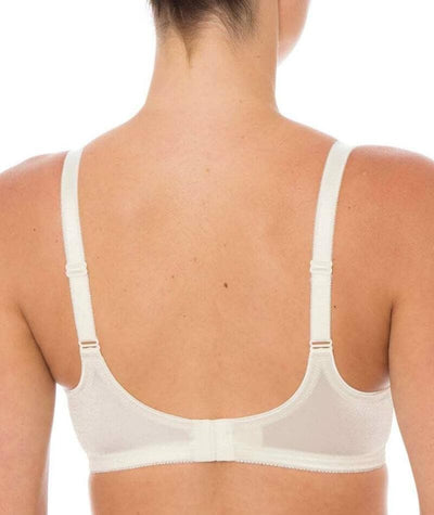 Triumph Embroidered Minimizer Bra - Vanille - Back