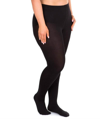 Sonsee Opaque 100 Denier Full Tights - Black Hosiery