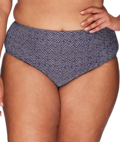 Artesands Mid Rise Basic Brief - Zig Zag - Front