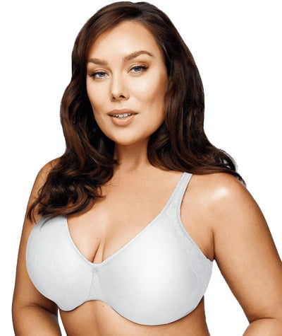 Playtex Side Support and Smoothing Minimiser Bra - White Bras 12C