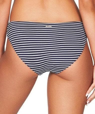 Sea Level Paloma Stripe Hipster Bikini Brief - Navy/White Swim