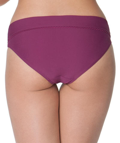 Curvy Kate Jetty Fold Over Bikini Brief - Berry Swim