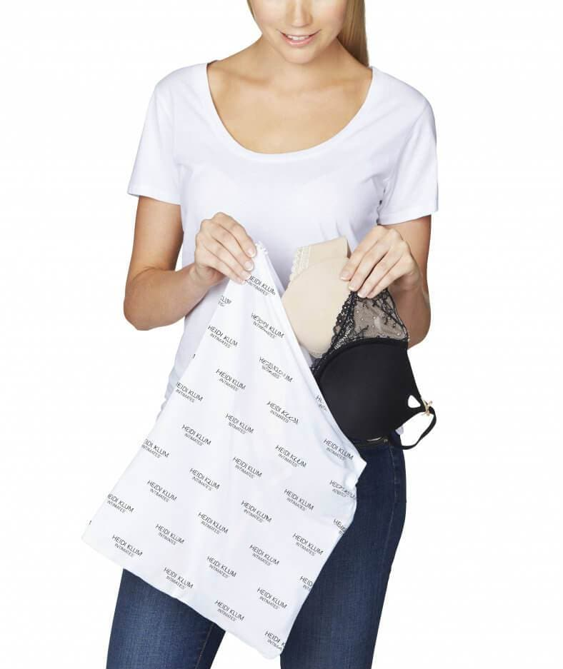 Image of Lingerie Wash Bag by Heidi Klum Solutions - White