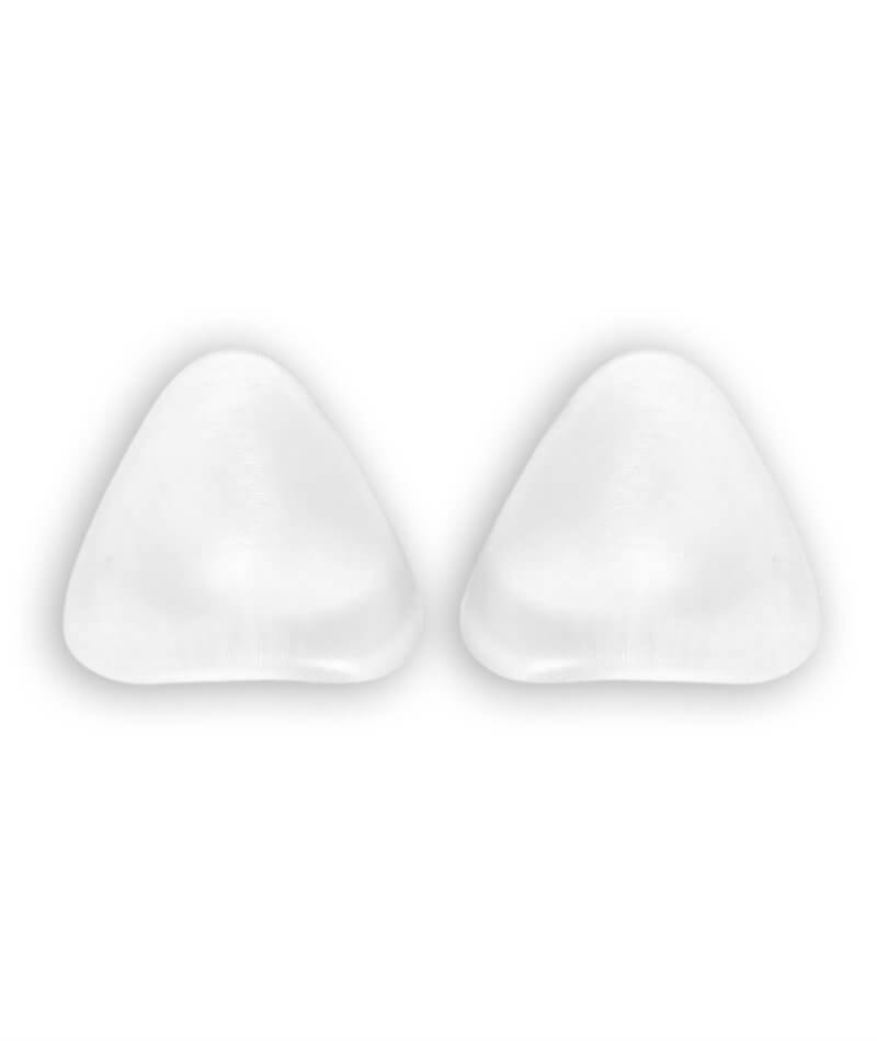 Image of Clear Silicone Triangle Pads by Heidi Klum Solutions