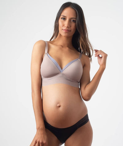hotmilk Project Me Ambition Triangle Bra - Cosmetic Lilac Bras