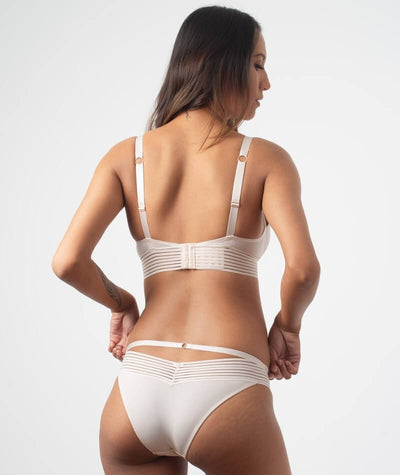 hotmilk Project Me Ambition Triangle Bra - Shell Pink