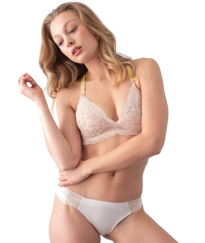 hotmilk Project Me Ambition Brazillian Brief - Shell Pink Knickers
